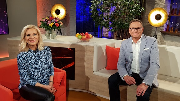 Uta Bresan und Axel Bulthaupt