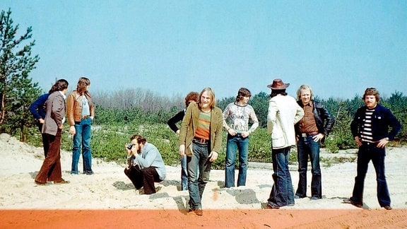 Puhdys am Rohr Talnoje 1977