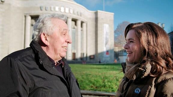 Katarina Witt mit Egon Krenz 2019