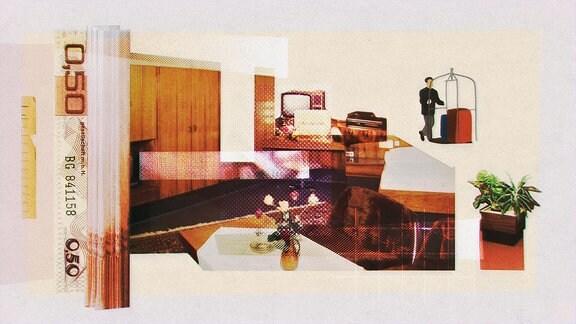 Die Animationen spiegeln viele Details der damaligen Inneneinrichtung des Hotels