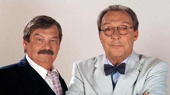 Ein lässiges Team: Günther (Wolfgang Winkler, li.) und Erwin (Jaecki Schwarz).