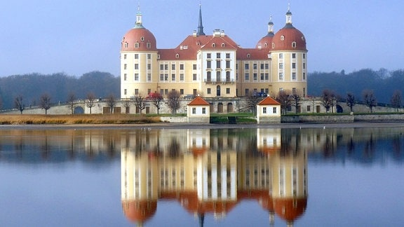 Einer der Drehorte: Schloss Moritzburg