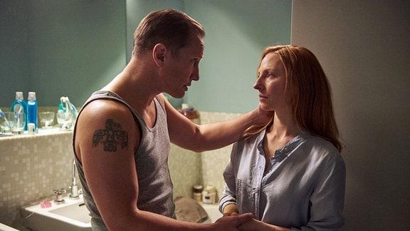 Roman (Benno Fürmann) und Ariane (Katharina Schüttler) versuchen verzweifelt, ein Baby zu bekommen.