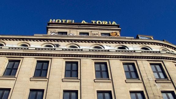Außenfassade vom Hotel Astoria