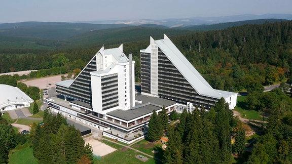 Oberhof - Treff Hotel Panorama. Ex-Interhotel Panorama