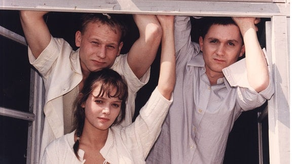 Trutz (Bernd Michael Lade), Brigitte (Claudia Stanislav), Stani (Volker Rainsch)