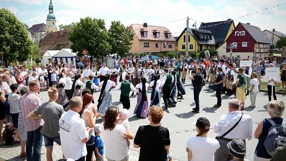 """Mjezynarodny folklorny festiwal """"Łužica 2017"""""""