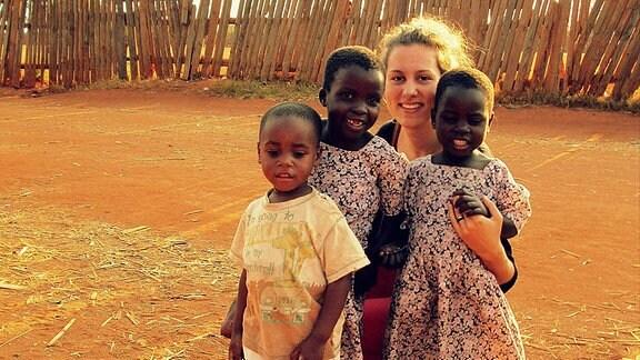 Christina Pólkec z Kulowca w Malawi