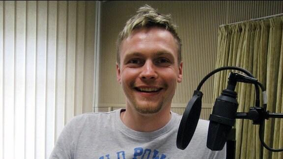 Der sorbische Redakteur Stephan Paschke.