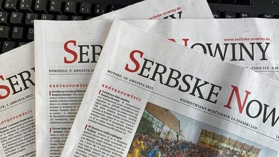 titule wudaćow Serbskich Nowin