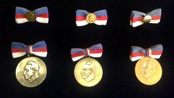 Myto Cisinskeho, Medaille