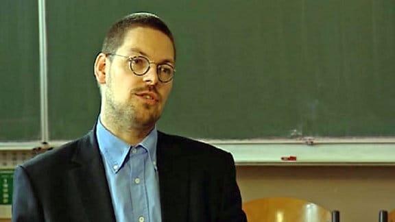Museumschef Tobias Hollitzer