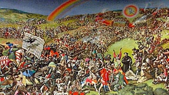 Gemälde zum Thema Bauernkrieg