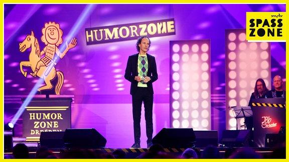 Olaf SChubert auf der Bühne der Humorzone - Die Gala