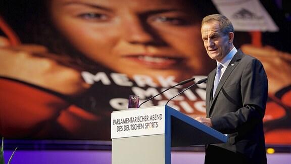 Alfons Hörmann, Praäsident des DOSB