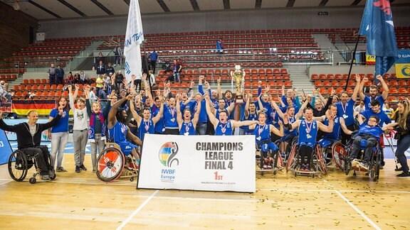 Champions League Sieger 2019: RSB Thuringia Bulls