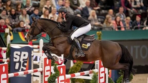 Marco Kutscher auf Pferd