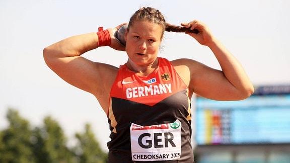 Christina Schwanitz, Deutschland, Kugelstossen Frauen