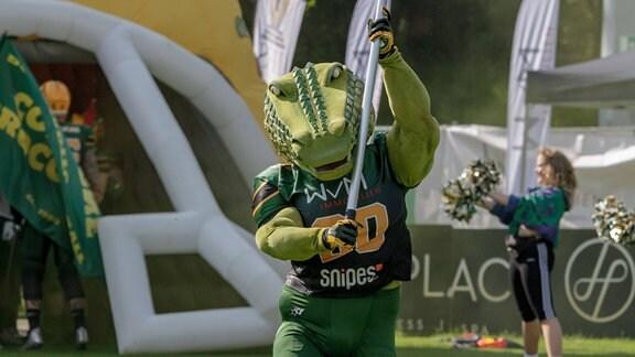 Maskottchen Cologne Crocodiles
