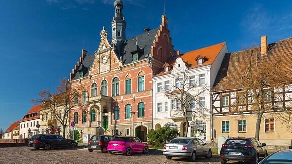 Rathaus am Markt in Dahlen
