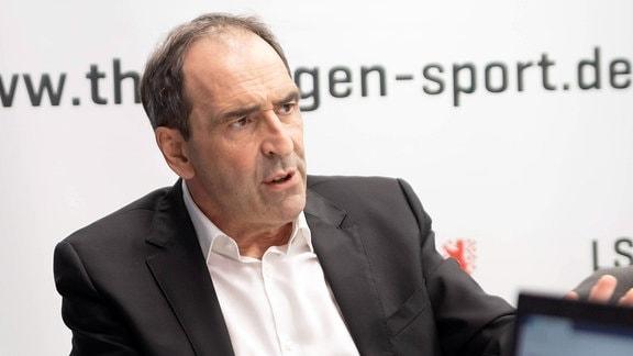 Prof. Dr. Stefan Hügel, Präsident Landessportbund (LSB) Thüringen.