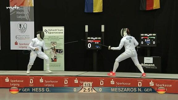 German Masters Finale: Gala Hess vs. Noemi Meszaros