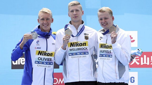 Marc-Antonin Olivier, Florian Wellbrock und Rob Muffels