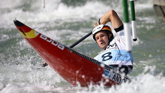 ICF Kanuslalom Weltcup 2018,  Franz Anton