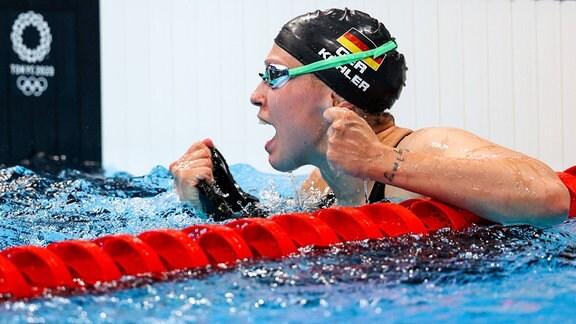 Sarah Köhler (Magdeburg) holt Bronze über 1.500 m Freistil