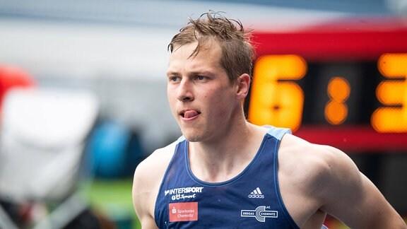 Dreispringer Max Hess