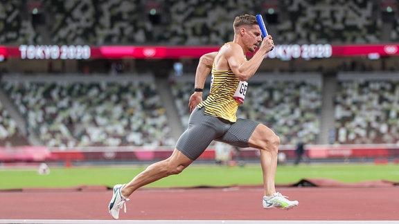 Julian Reus bei einem Lauf