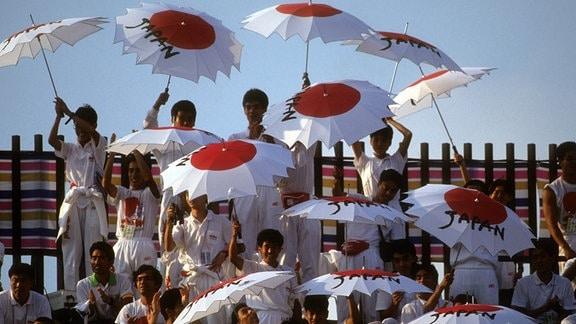 Abschlussfeier der Leichtathletik WM 1991 in Tokio