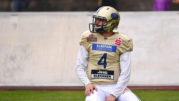 Quarterback Zack Greenlee, Dresden Monarchs.