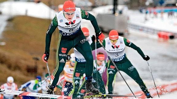 Nordische Kombination: Vinzenz Geiger (GER) and Eric Frenzel (GER)