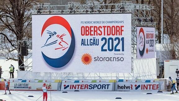 Noridsche Ski-WM in Oberstdorf (Allgäu)