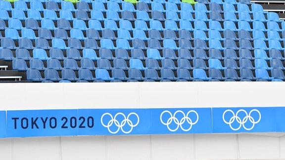Olympische Spiele in Tokio ohne Zuschauer.