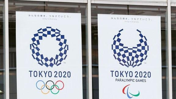Logos der Spiele «Tokyo 2020»