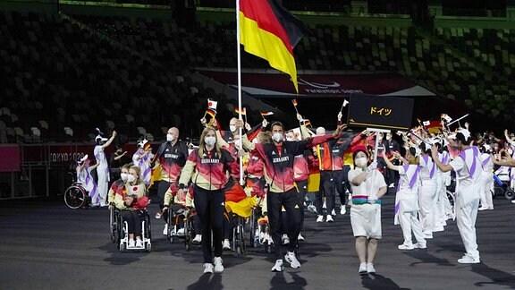 Paralympics-Eröffnung: Einmarsch deutsches Team