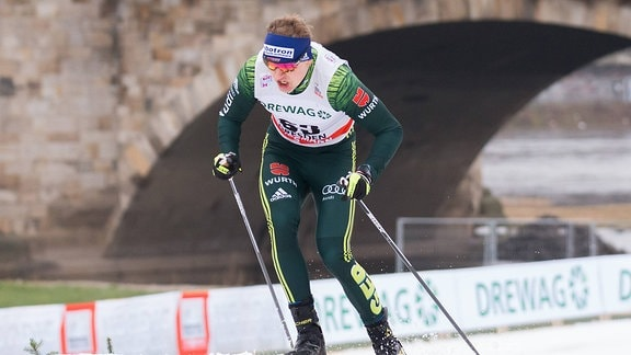 Richard Leupold (GER, Deutschland), FIS Skilanglauf-Weltcup in Dresden