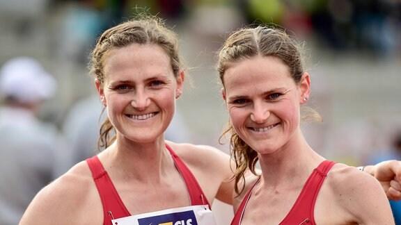 v.l. Deborah Schoeneborn und Rabea Schoeneborn