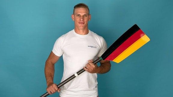 Karl Schulze - Doppelvierer Herren (mit) Kamerablick