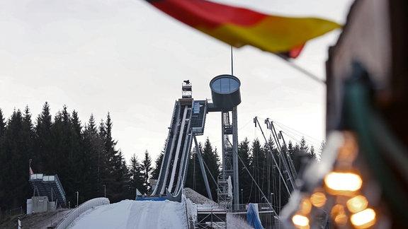 Skispringen Vogtland Arena Klingenthal
