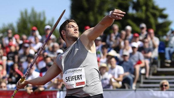 Speerwerfer Bernhard Seifert
