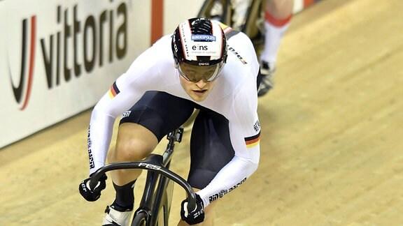 Bahnradfahrer Stefan Bötticher