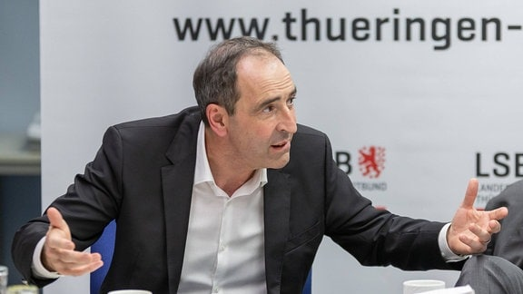 Prof. Dr. Stefan Hügel (Präsident Landessportbund Thüringen)