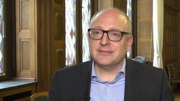 Sven Schulze, OB von Chemnitz