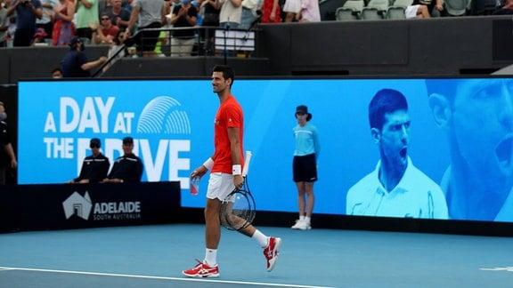 Tennis in Adelaide: Novak Djokovic