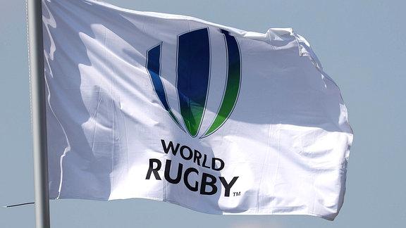 Die Fahne von World Rugby