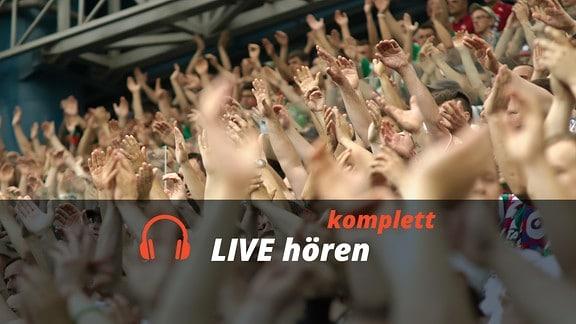 Audio-Livestream: Komplettübertragung des Sportevents