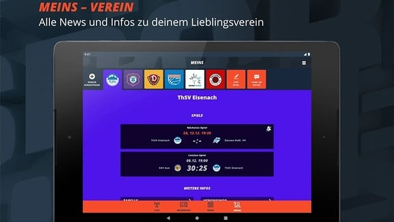 SPIO-App Appstore Preview Android Tablet